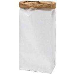 Sac en papier XL - blanc et kraft