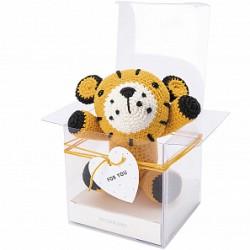 Kit doudou tigre en crochet