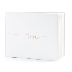 Guest book Livre d'or- Love or rose