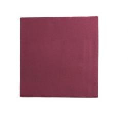 50 petites serviettes en papier - Bordeaux