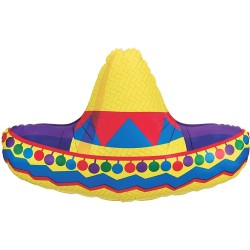 Ballon mylar- Sombrero