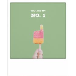 Carte pola - Glaçon You are my n°.1
