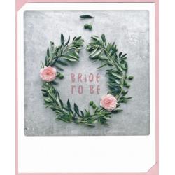 carte pola bride to be