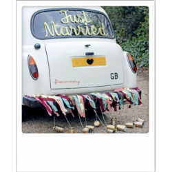 Carte pola just married voiture