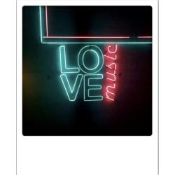 Carte pola - Love music