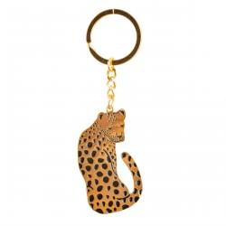 1 porte clef léopard