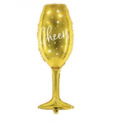 Ballon aluminium - coupe de champagne
