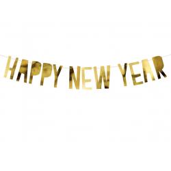 Guirlande Happy New Year - or
