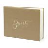 Guest book livre d'or - kraft
