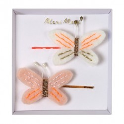 2 pinces - papillons