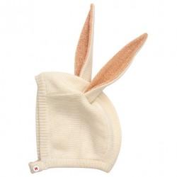 Bonnet bébé - lapin