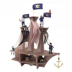 1 décoration de table - pirate