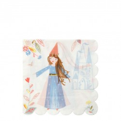 16 serviettes - Princesse