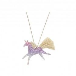 Collier - Licorne glitter