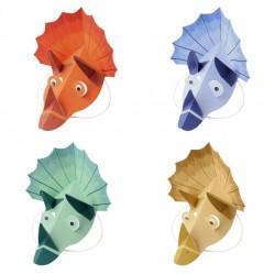 8 chapeaux - Dinosaure (4 coloris)