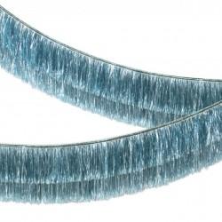 Guirlande à franges - Bleu