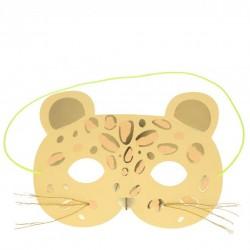 Carte masque de Léopard