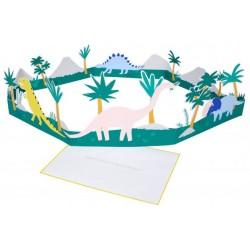 Carte décor - Dinosaure