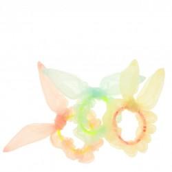 3 chouchous - Pastel oreilles de lapin