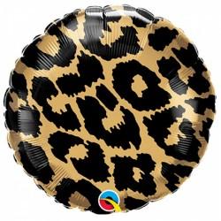 Ballon aluminium - imprimé léopard