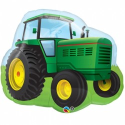 Ballon aluminium - Tracteur