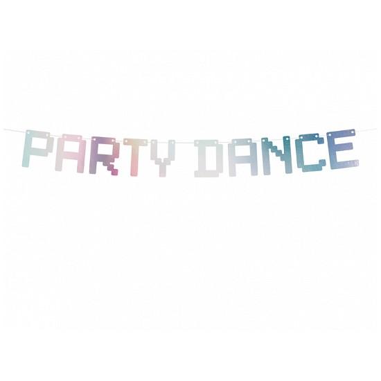1 guirlande Party Dance- holographique