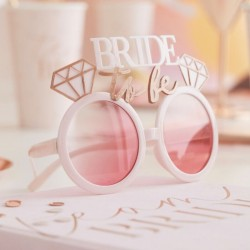 "Lunettes ""bride to be"""