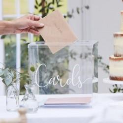 Urne Cards - Plexiglass