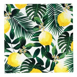 20 serviettes - Lemon
