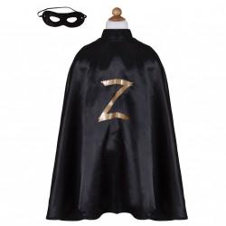 Déguisement - Zorro cape et masque 5-6 ans