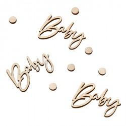Confettis Baby - Bois