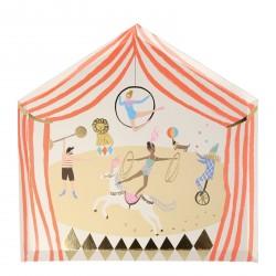 8 assiettes - chapiteau de cirque
