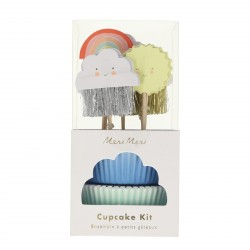 Kit 24 cupcakes - Happy Weather
