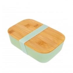 Boîte à lunch en bambou - Vert menthe