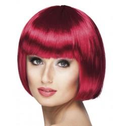 Perruque  Cabaret rouge rubis