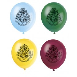 8 ballons HARRY POTTER 30cm