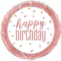 Ballon aluminium - Happy Birthday
