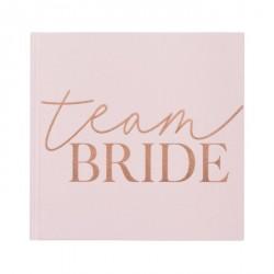 Livre d'or Team Bride - Rose et or rose