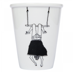 Cup - Trapeze girl