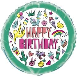 Ballon aluminium - Favorite Things Birthday