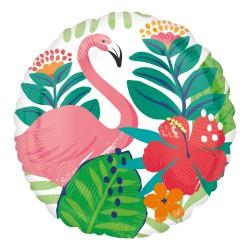 Ballon aluminium - Tropical flamingo