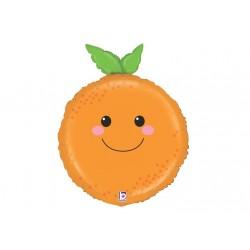 Ballon aluminium - Orange