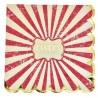16 serviettes circus