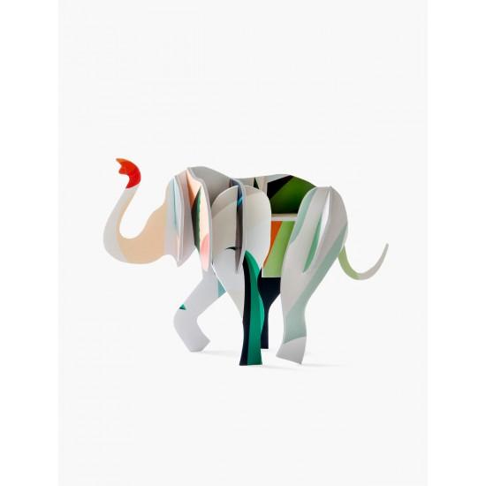 Décoration à poser 3D - Elephant
