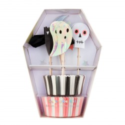 Kit cupcake - Halloween fantôme