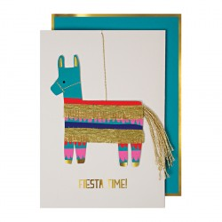 Carte anniversaire - Lama pinata