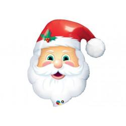 Ballon aluminium Noël - Père Noël géant
