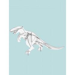 DIY à monter et à colorier - T-Rex