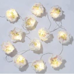 Guirlande fleurs lumineuses - 2m