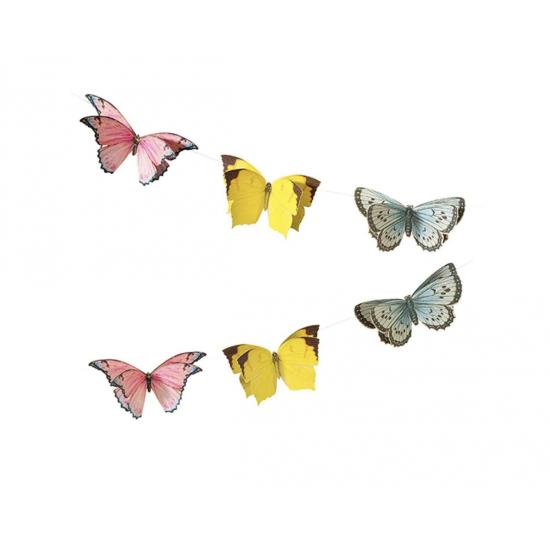 Guirlande décorative - Papillons